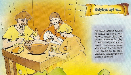 posiłek ze wspólnej miski