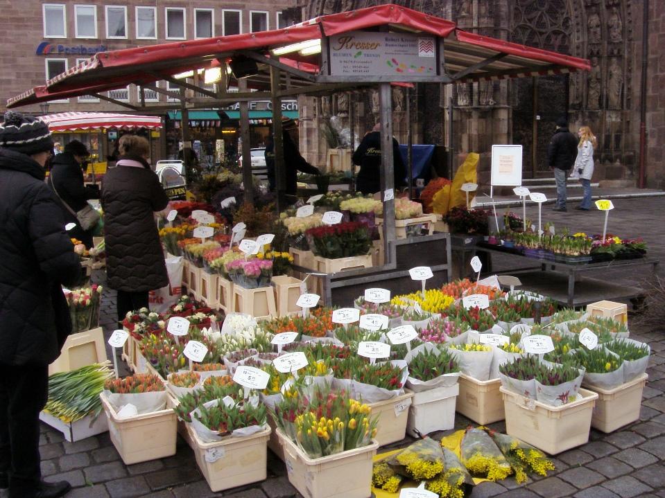 Kwiaty w Norymberdze