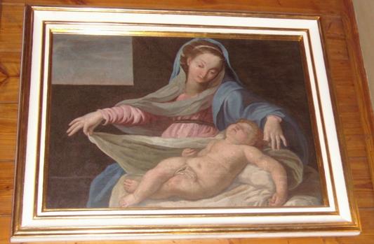 """""""Matka Boska przewijająca Dziecię Jezus"""""""