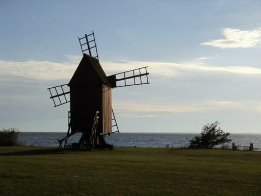 wiatrak na Olandii