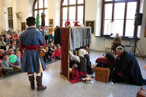 Staropolskie przedstawienie kukiełkowe
