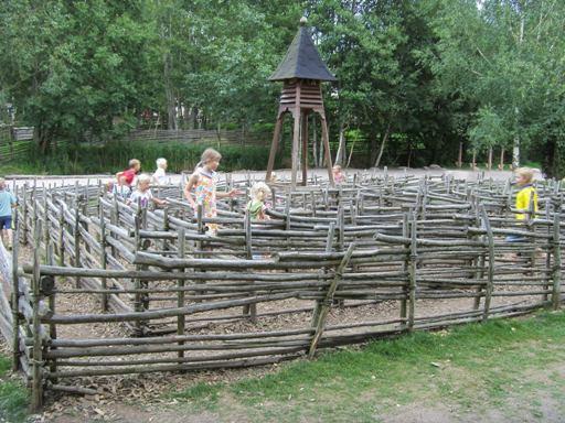 """""""Płotkowy"""" labirynt w Vimmerby"""