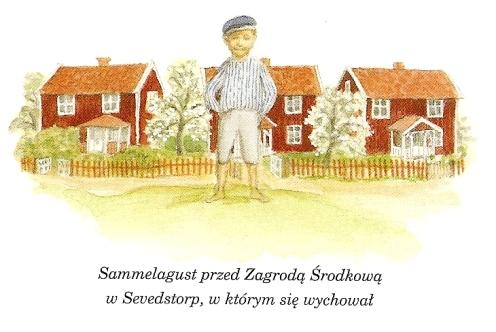 """Ilustracja z książki """"Przygody Astrid..."""""""