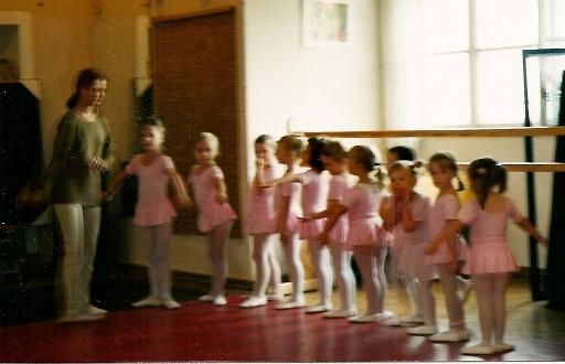 Baletowe początki mojej córki
