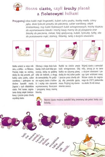 Przepis Cecylki Knedelek na winogronowy placek