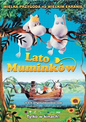 Lato Muminków - plakat