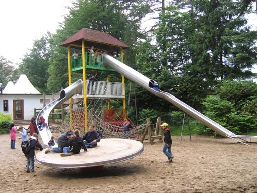Plac zabaw w hamburskim zoo