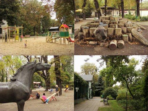 Zabawa w starym zoo