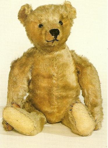 Miś z 1906 roku - Museum of Childhood w Edynburgu