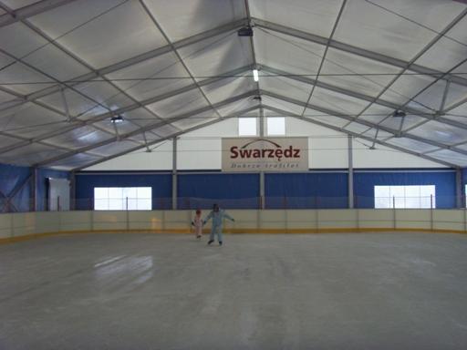 Na lodowisku w Swarzędzu
