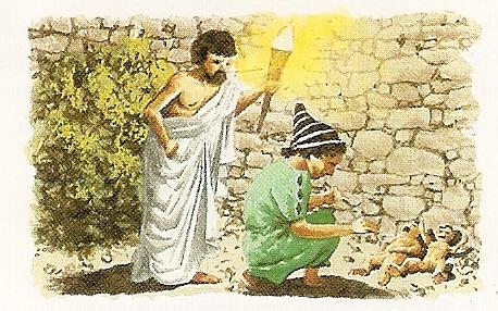 Porzucanie dzieci w starożytnej Grecji
