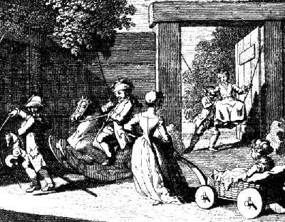 """Chodowiecki """"Zabawy dziecięce"""" 1785"""