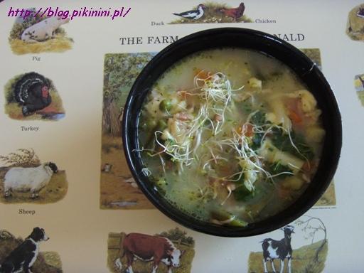 Zupa jarzynowa Baucis i Filemona