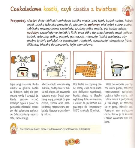 Przepis na czekoladowe kostki