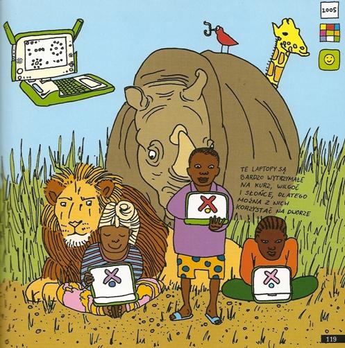Projekt laptopa dla dzieci