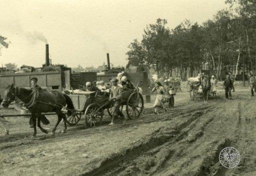 Ucieczka ludności cywilnej - wrzesień 1939