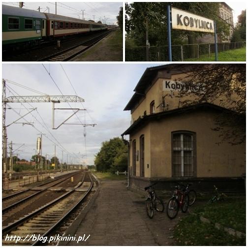 Dworzec kolejowy w Kobylnicy