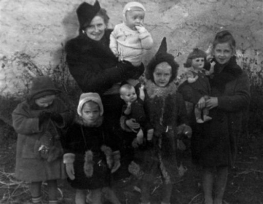 Rodzina Franciszka Witaszka w czasie wojny