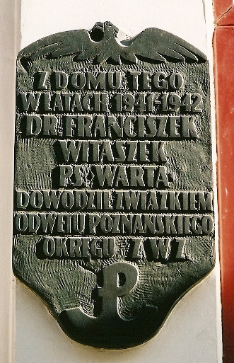 tablica na ul. Wrocławskiej w Poznaniu