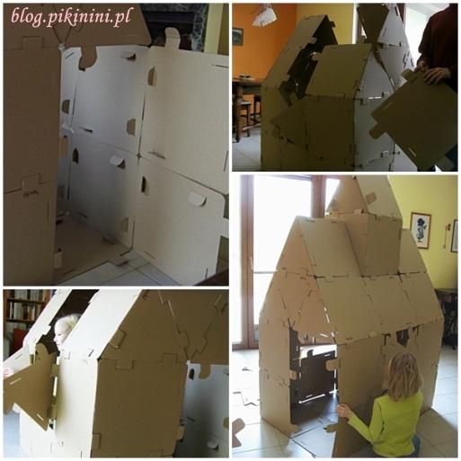 Budowa domku z kartonu