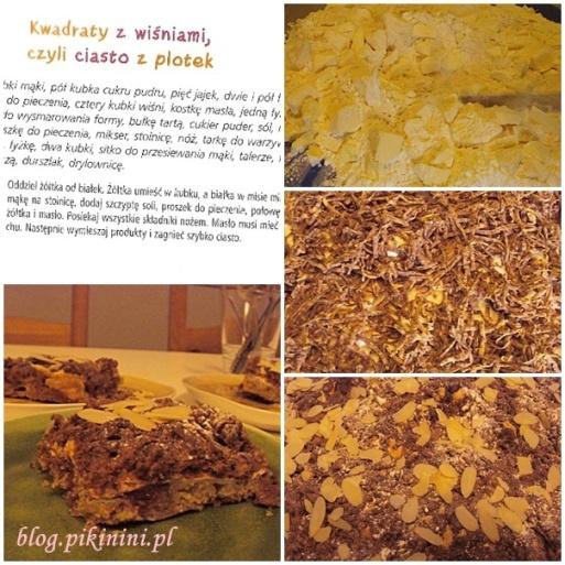 Ciasto z wiśniami Cecylki Knedelek