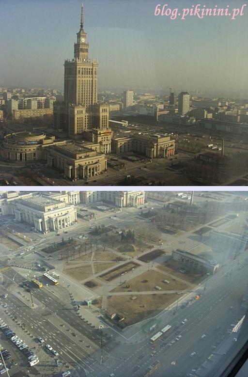 Warszawa z 33 piętra