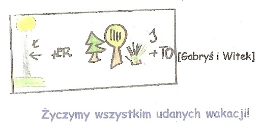 Rebus Gabrysia i Witka