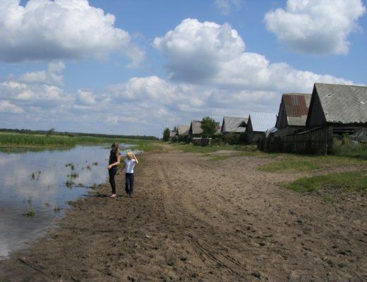 Wieś nad Biebrzą