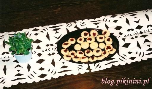 Maślane ciasteczka na serwetce