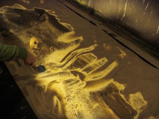 Szkielet w muzeum