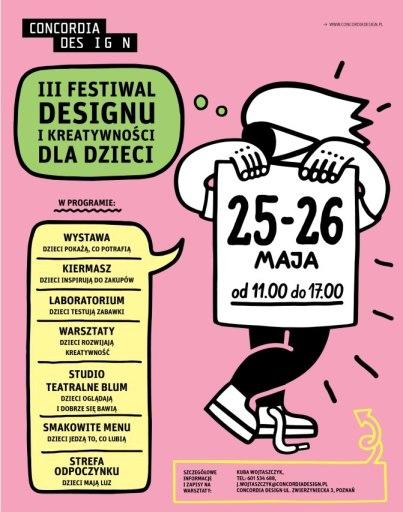 Plakat Concordia Design
