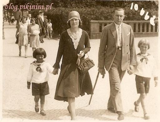 Rodzina Idziak w latach dwudziestych