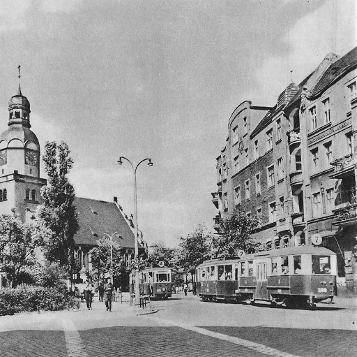 Rynek Wildecki w latach 60.