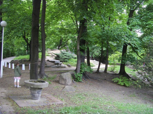 W Parku Wilsona w Poznaniu