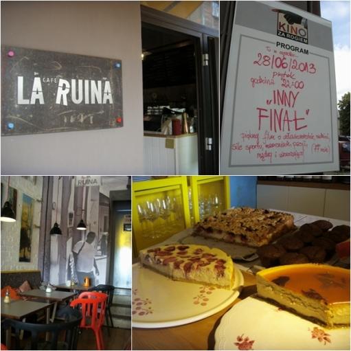 Cafe La Ruina na Śródce