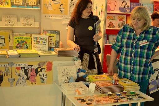 Cztery żywioły i dwa koziołki na Targach Książki w Warszawie