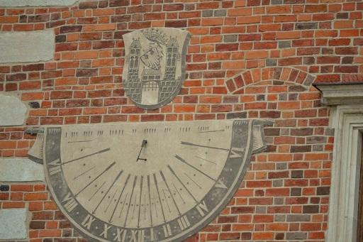 Zegar w Sandomierzu
