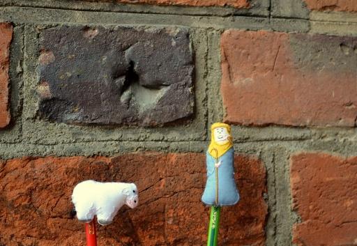 Pasterze przed poznańską katedrą
