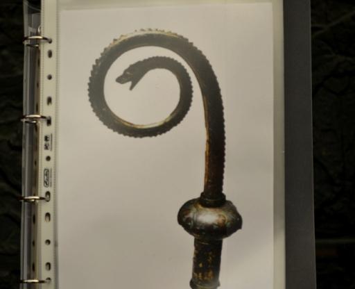 Pastorał z wężem