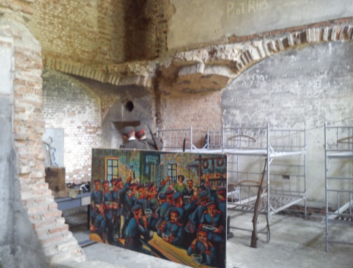 Sypialnia w Forcie III