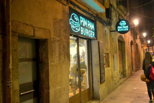 Burgery w Barcelonie
