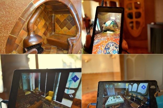 Z video przewodnikiem przez Casa Batlló