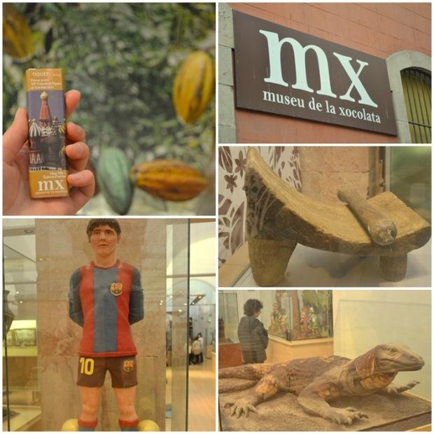 Muzeum czekolady w Barcelonie