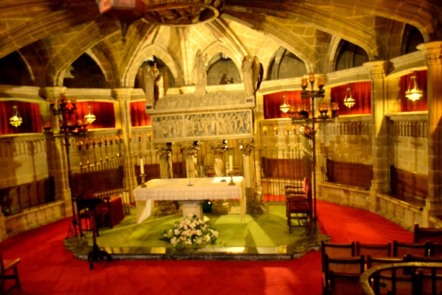 Grób św. Eulalii