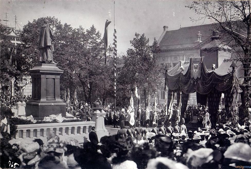 Dni-Cesarskie-4-wrzesnia-1902-odsloniecie-pomnika-Fryderyka-III