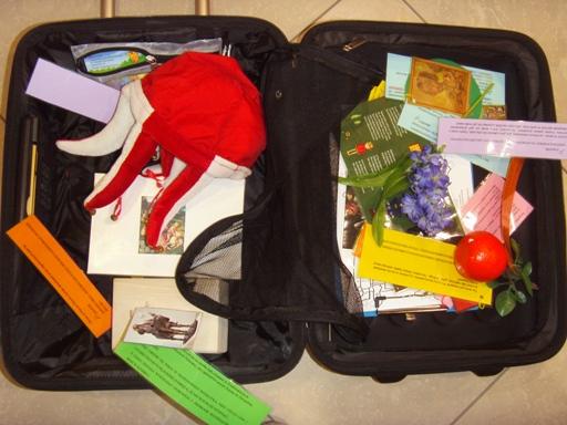 walizka małych tropicieli
