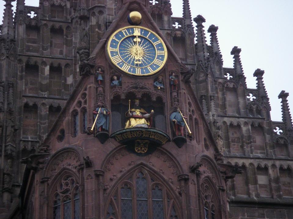 Zegar w Norymberdze