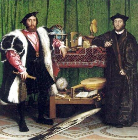 "Hans Holbein ""Ambasadorowie"""