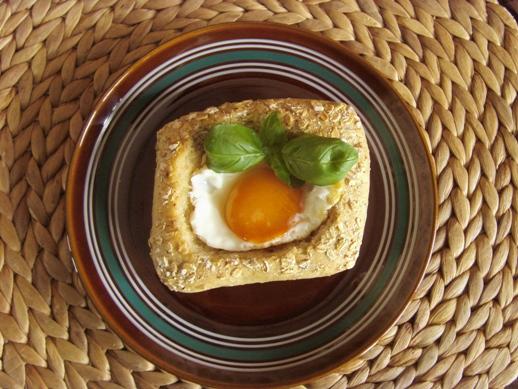 Jajko w gniazdku