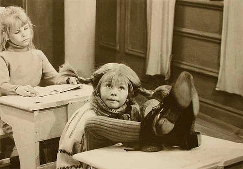 Pippi w szkole
